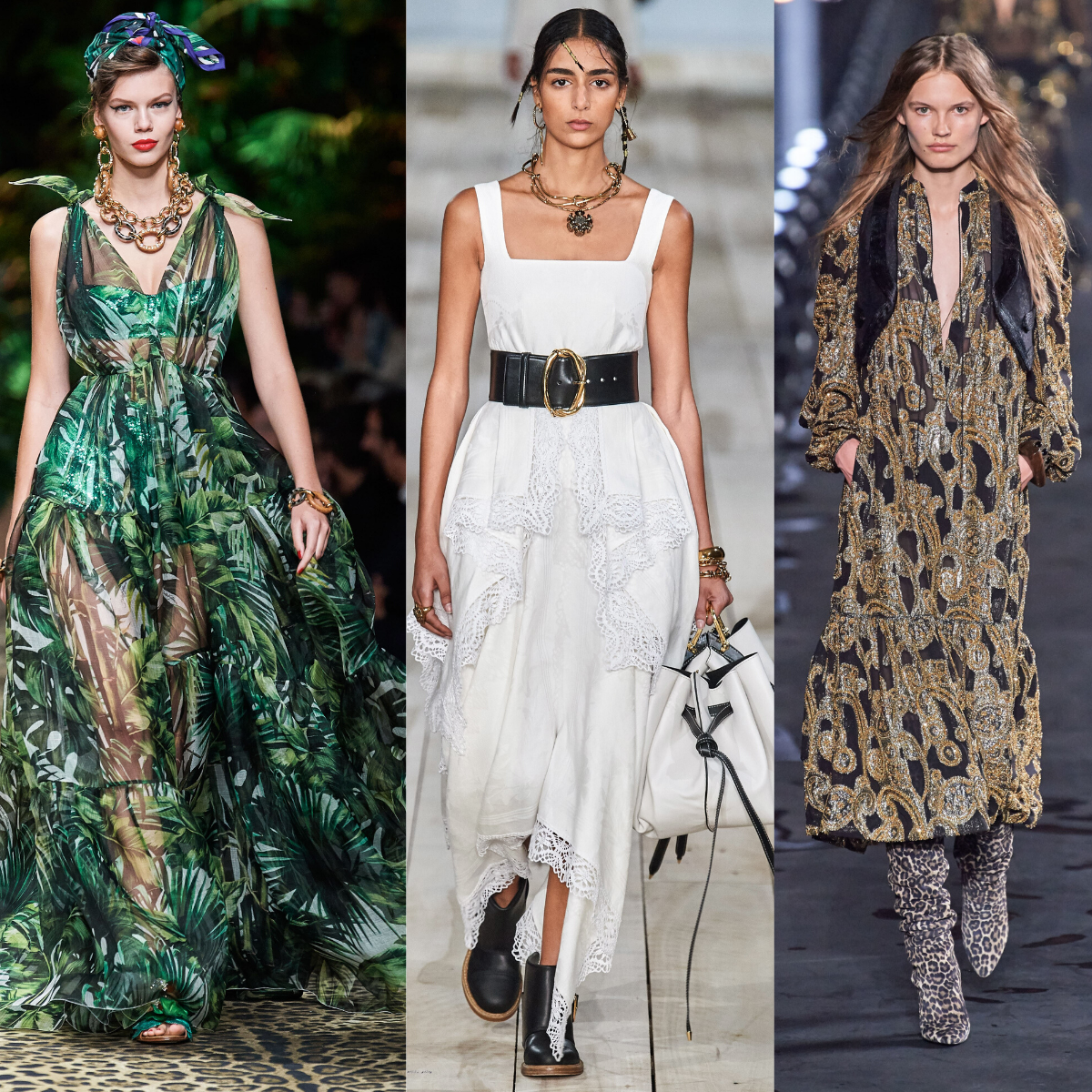 Sewing Inspiration From Spring Trends 2020: Runway Inspiration