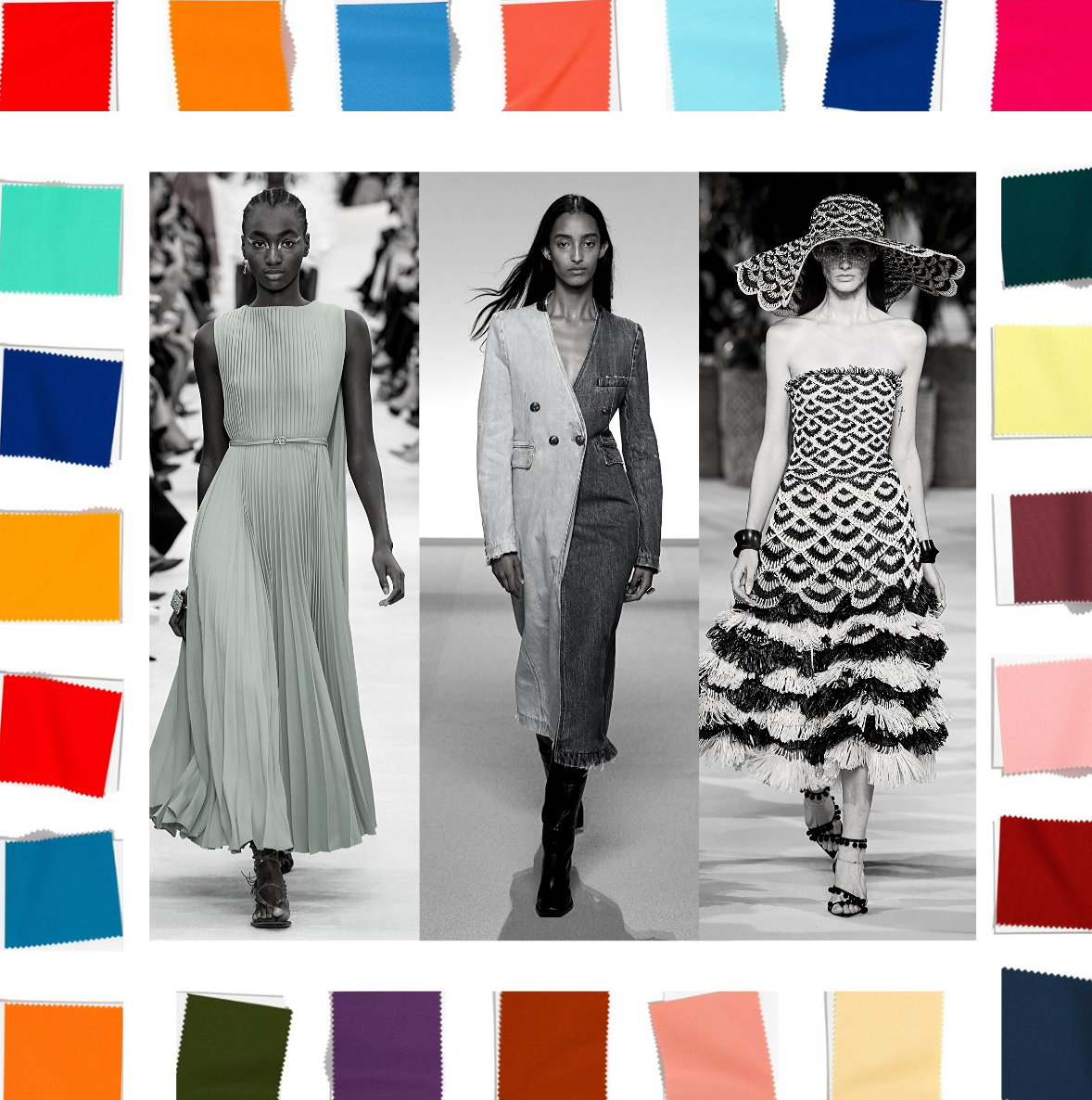 Sewing Inspiration From Spring Trends 2020 Dream Cut Sew