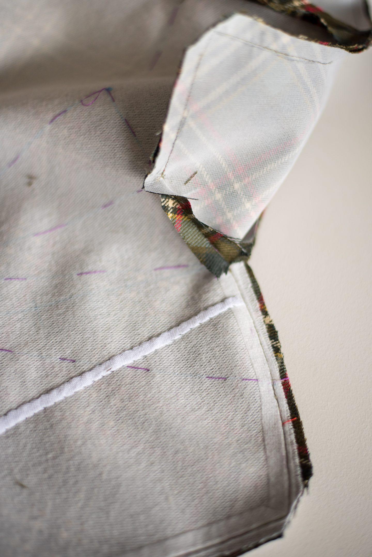 DIY Tartan Jacket