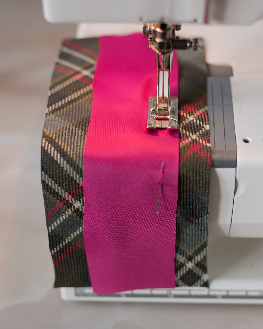 Tutorial: Add bias insert detail to a jacket lining. Step 3