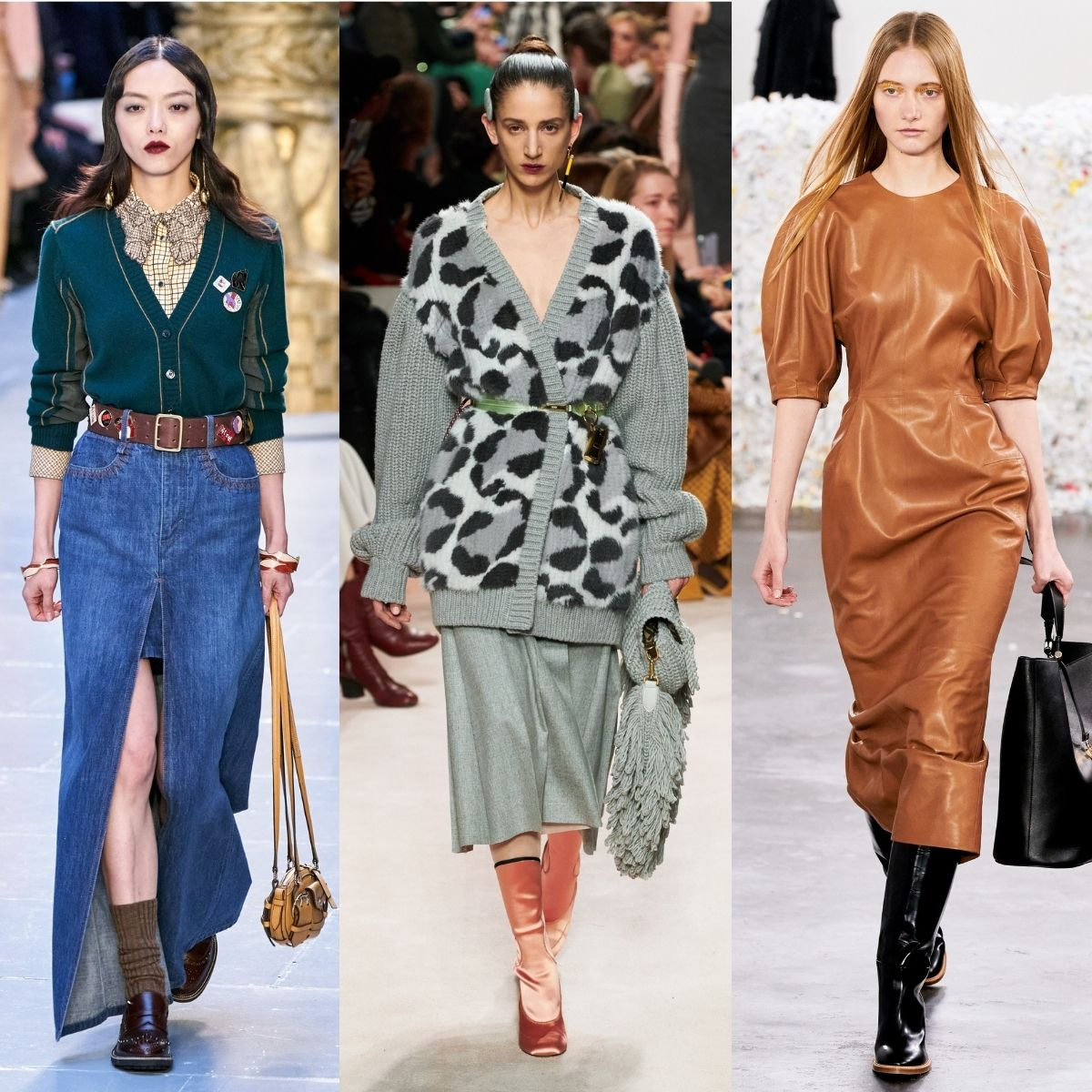 Chloe. Fendi and Gabriella Hearst runway images
