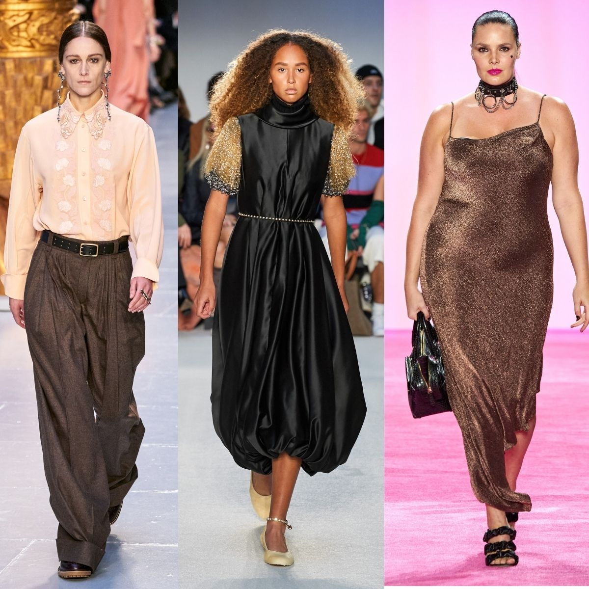 Chloe, JW Anderson and Christian Siriano runway images