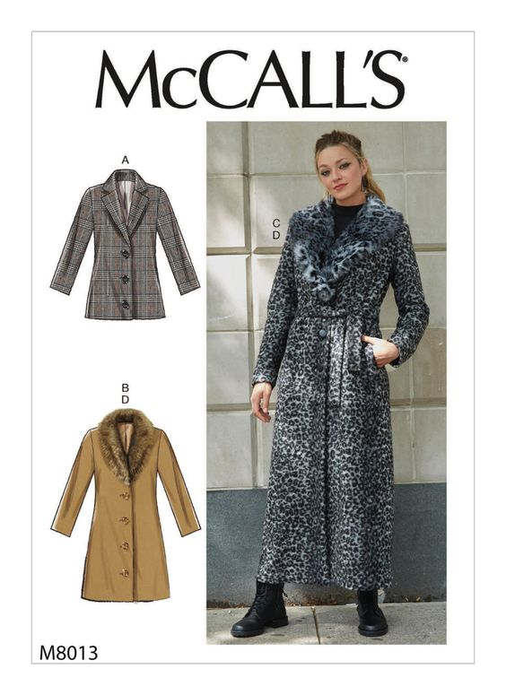 Sewing Inspiration Autumn Trends 2020 McCalls coat