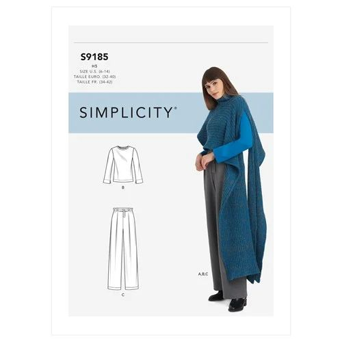 Sewing Inspiration Autumn Trends 2020 Simplicity pattern