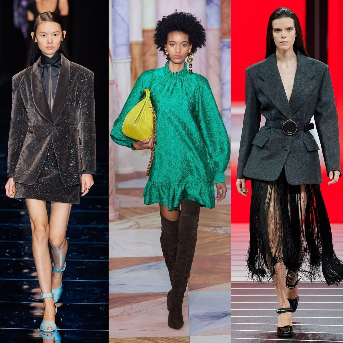 Sportmax, Ulla Johnson and Prada runway images