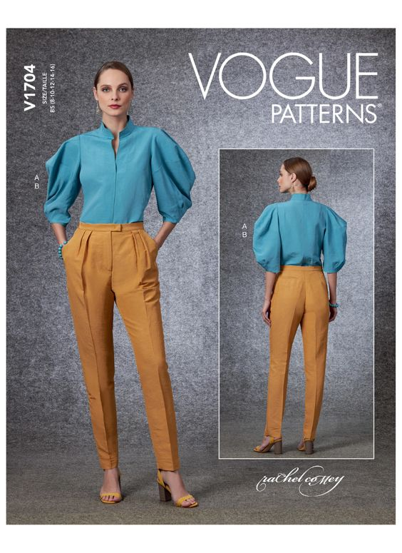 Sewing Inspiration Autumn Trends 2020 Vogue blouse