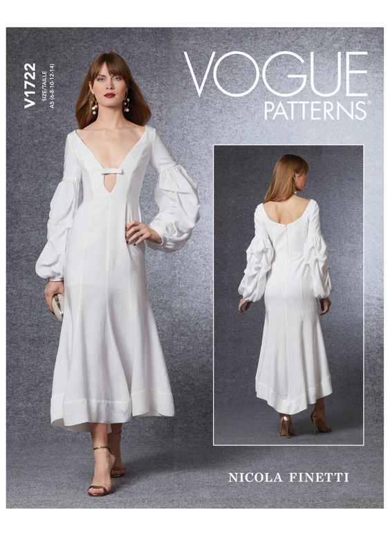 Sewing Inspiration Autumn Trends 2020 Vogue dress
