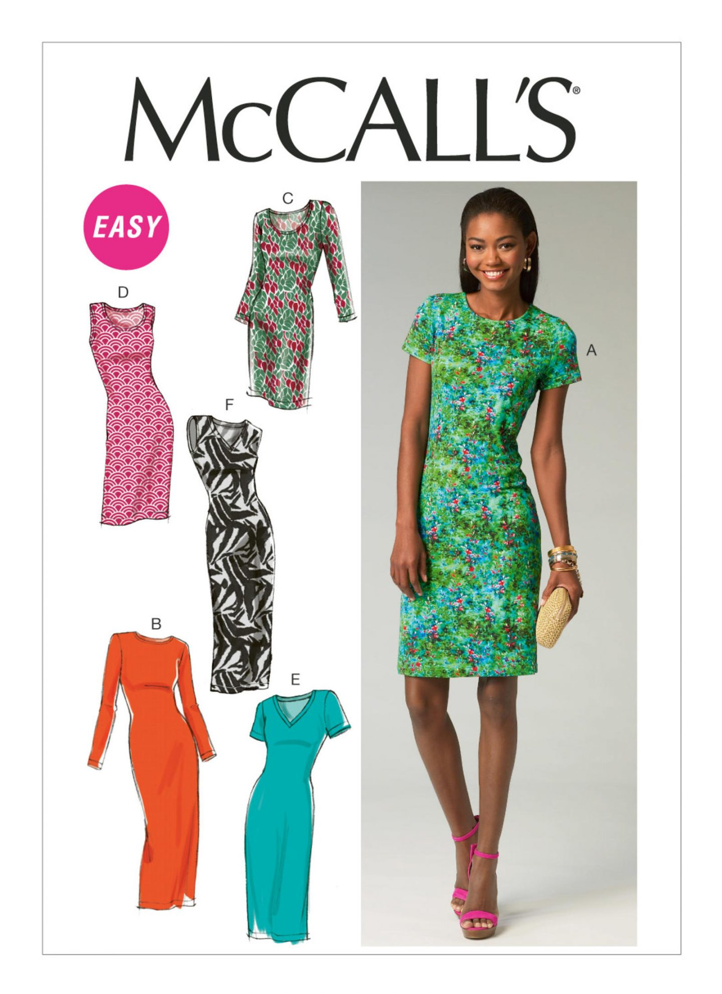 Long sleeved tee with a twist. McCalls 6886