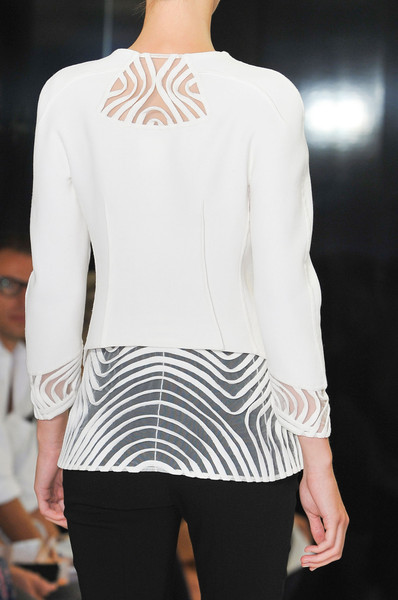 Unusual design detail by Ralph Rucci