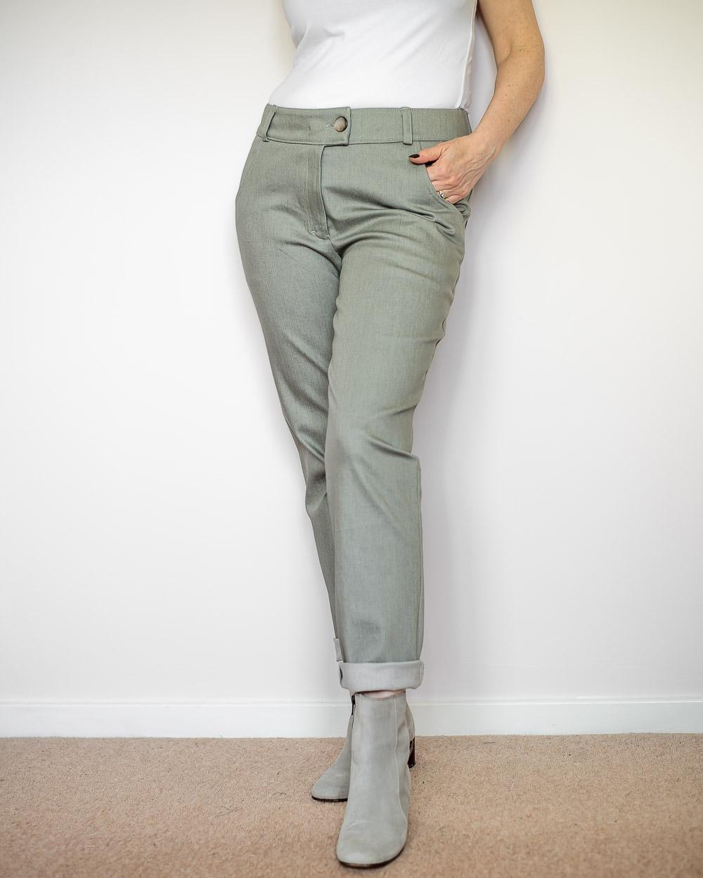 DIY Grey Jeans